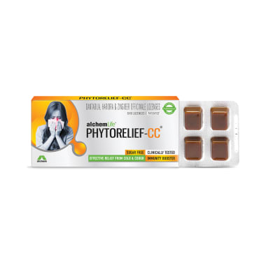 Phytorelief-CC Lozenges Sugar Free