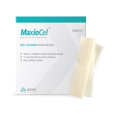 MaxioCel 100% Chitosan Wound Dressing 2.5x30cm for Bed Sores