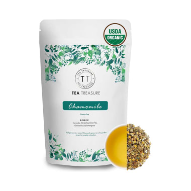 Tea Treasure Chamomile Green Tea