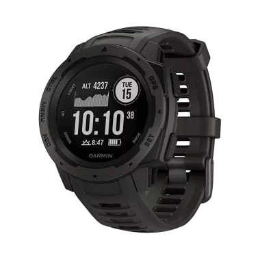 Garmin Instinct Wearable GPS Running Smartwatch Graphite
