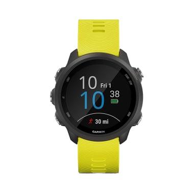 Garmin Forerunner 245 Amp Wearable GPS Running Smartwatch Yellow
