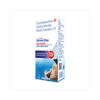 Otrivin Oxy Fast Relief Adult Nasal Spray