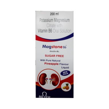 Magstone B6  Oral Solution Pineapple Sugar Free