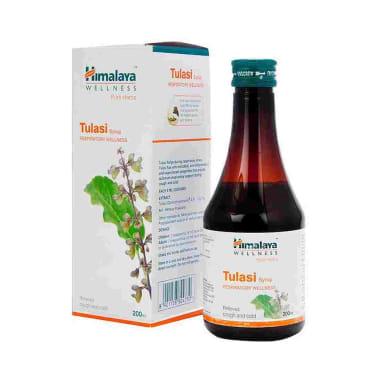 Himalaya Wellness Tulasi Respiratory Wellness Syrup