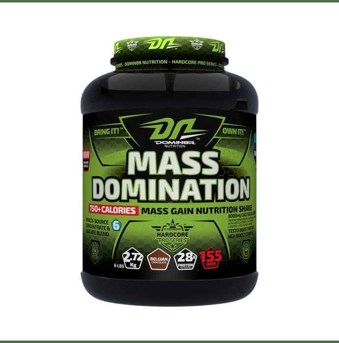 DOMIN8R Mass Domination Powder Belgiun Chocolate