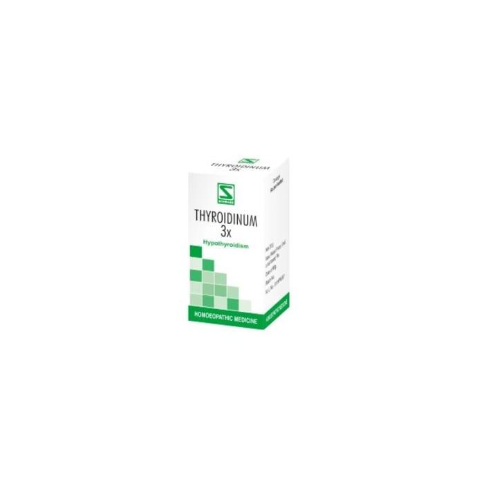 Dr Willmar Schwabe India Thyroidinum Trituration Tablet 3X