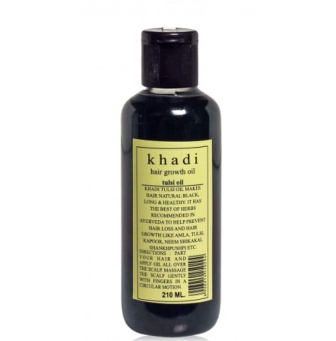 Khadi Naturals Hair Growth Tulsi Oil