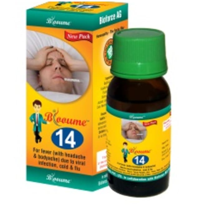 Bioforce Blooume 14 Fever Care Drop