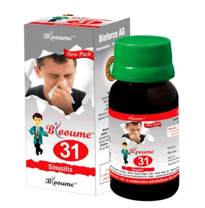 Bioforce Blooume 31 Sinusan Drop