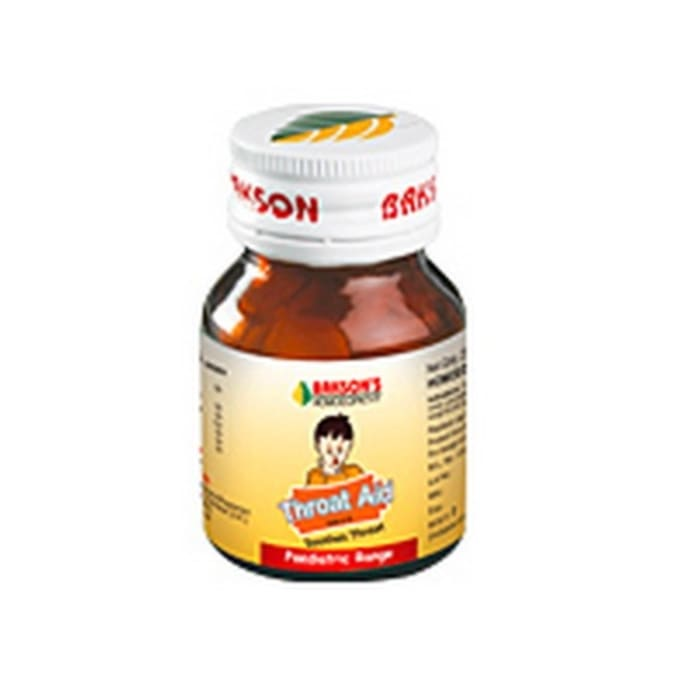 Bakson's Throat Aid Paediatric Tablet