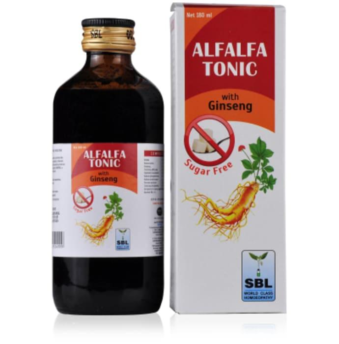 SBL Alfalfa Tonic With Ginseng Sugar Free