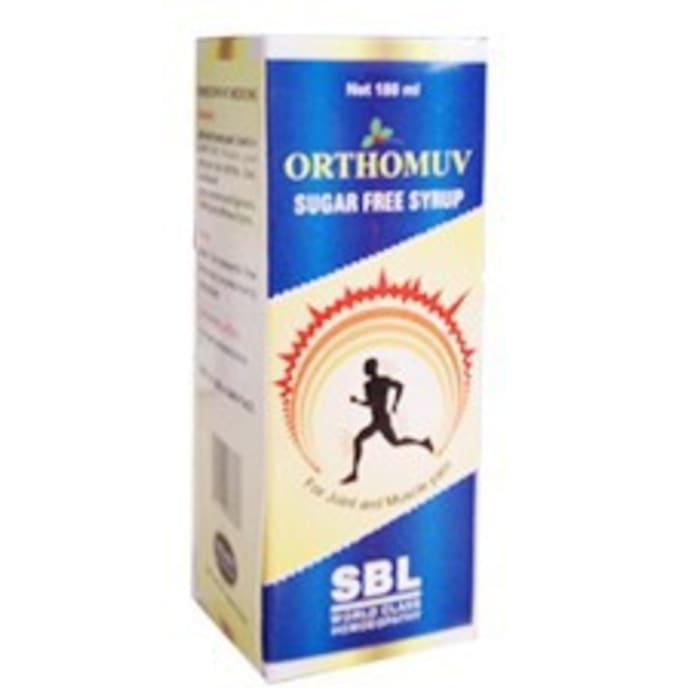 SBL Orthomuv Sugar Free Syrup