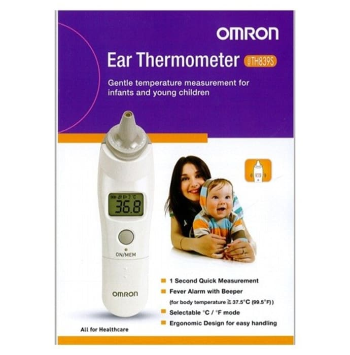 Omron TH-839S Digital Ear Thermometer