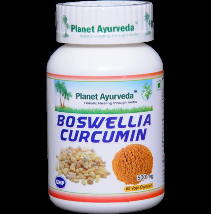 Planet Ayurveda Boswellia Curcumin Capsule