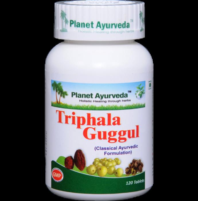 Planet Ayurveda Triphala Guggul Tablet