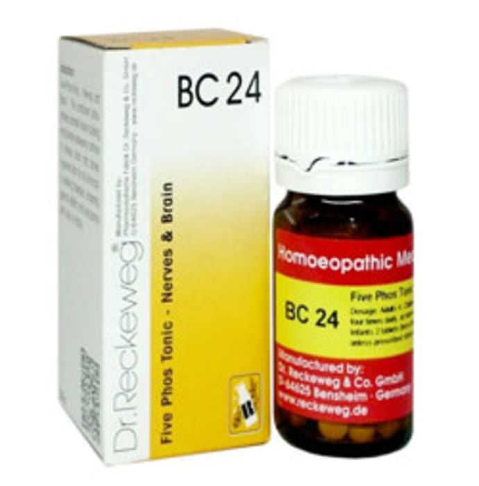 Dr. Reckeweg Bio-Combination 24 (BC 24) Tablet