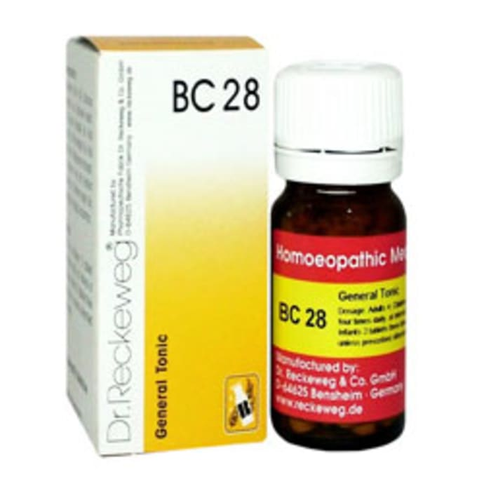 Dr. Reckeweg Bio-Combination 28 (BC 28) Tablet