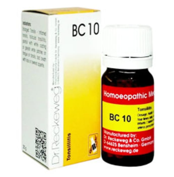 Dr. Reckeweg Bio-Combination 10 (BC 10) Tablet