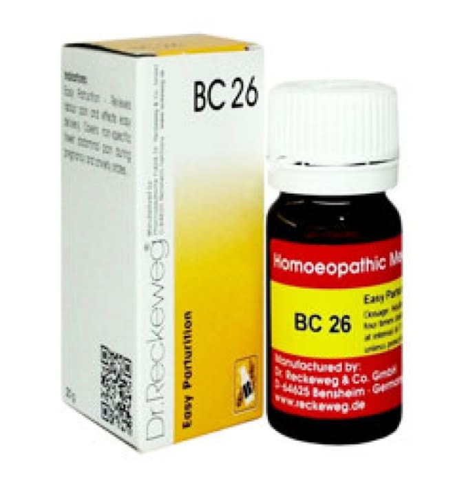 Dr. Reckeweg Bio-Combination 26 (BC 26) Tablet
