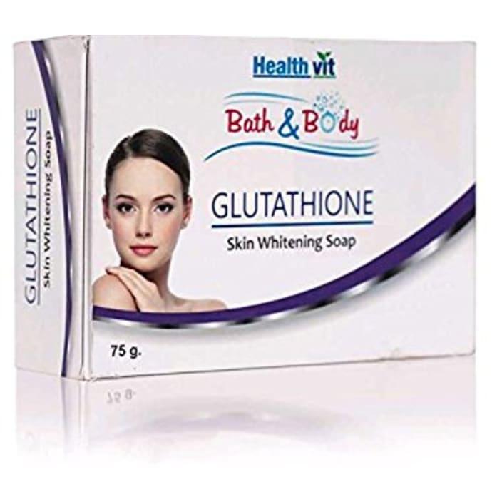 HealthVit Bath & Body Glutathione Soap