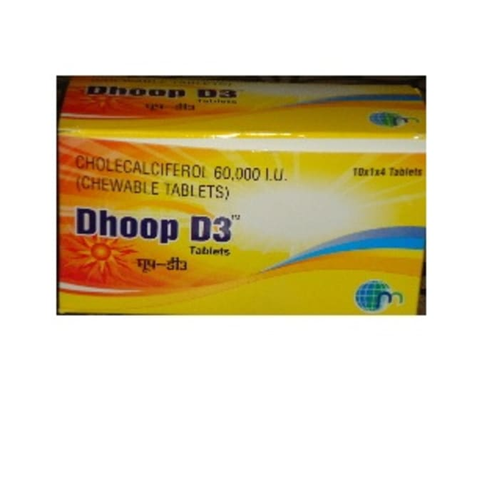 Dhoop D3 Tablet