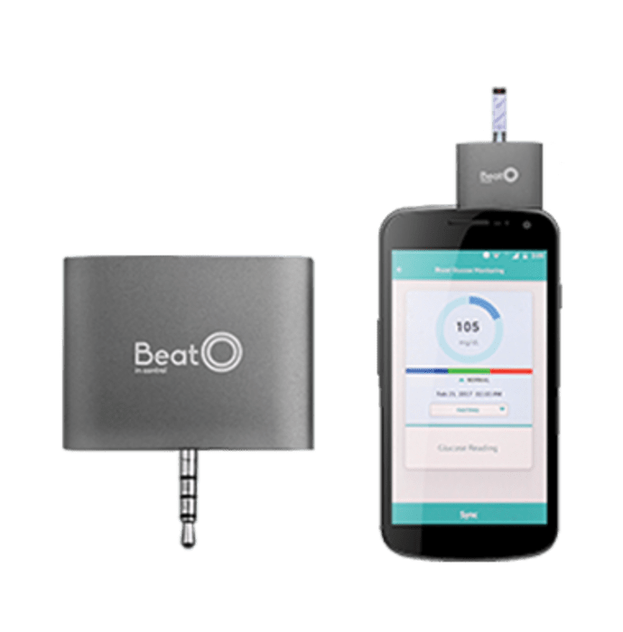 BeatO Smart Phone Glucometer with 20 Strips