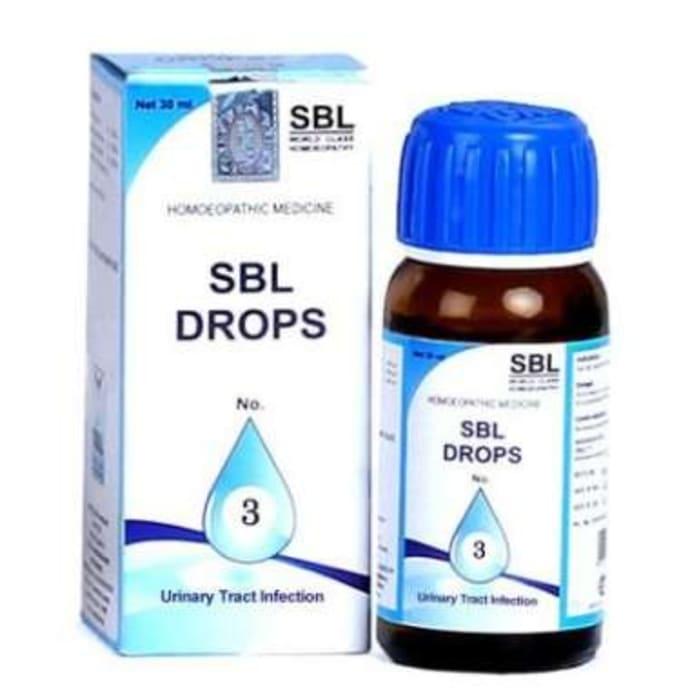 SBL Drops No. 3 (For UTI)