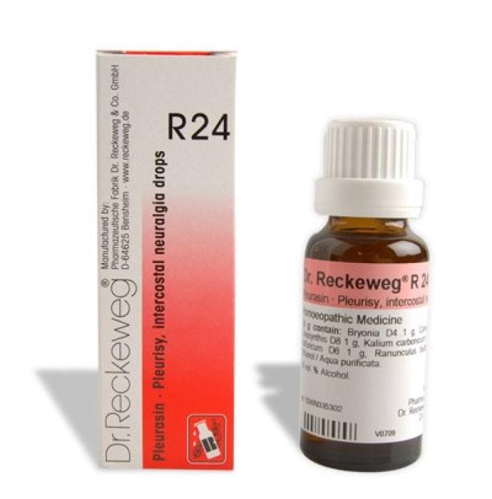 Dr. Reckeweg R24 Pleurisy And Intercostal Neuralgia Drop