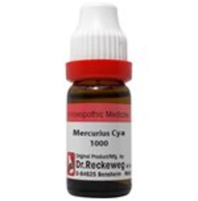 Dr. Reckeweg Mercurius Cya Dilution 1000 CH