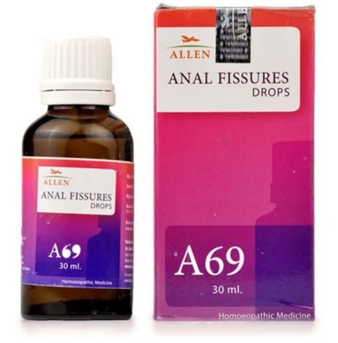 Allen A69 Anal Fissures Drop