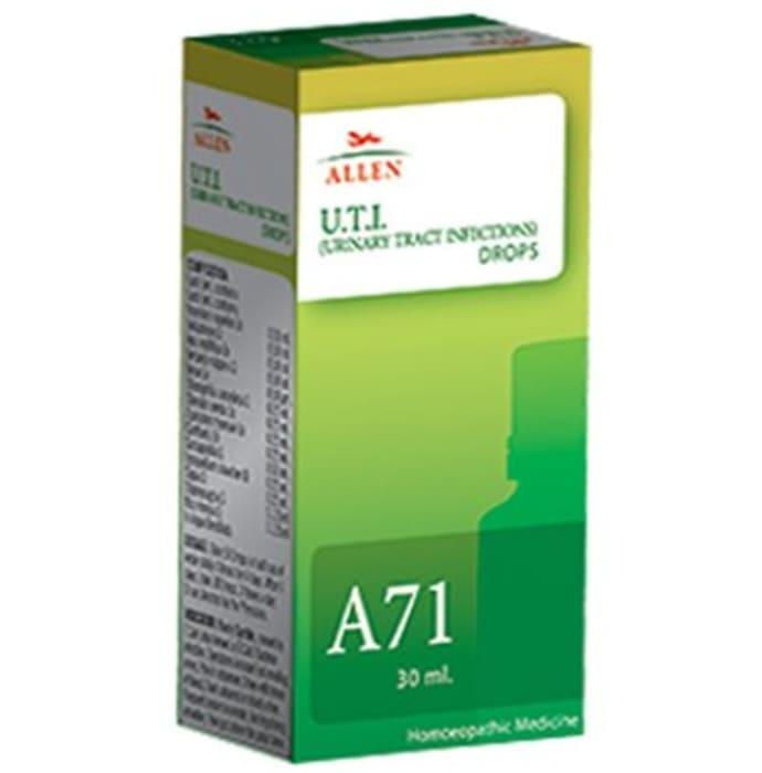 Allen A71 U.T.I. (Urinary Tract Infections) Drop