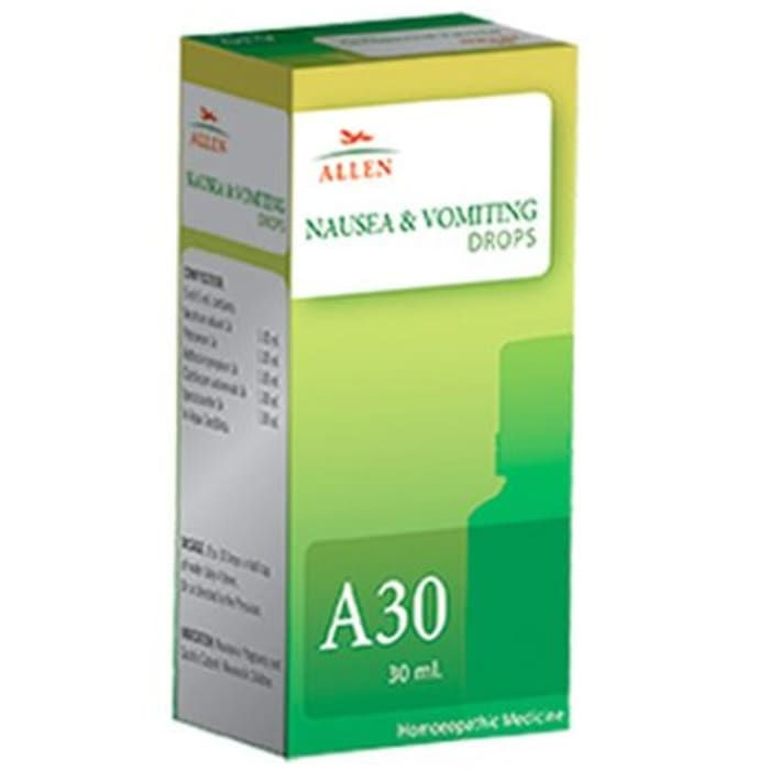 Allen A30 Nausea & Vomiting Drop