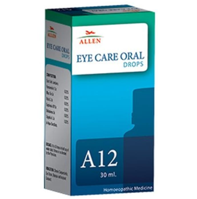 Allen A12 Eye Care Oral Drops