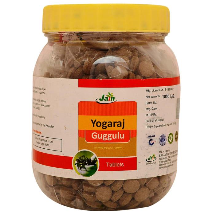 Jain Yogaraj Guggulu Tablet