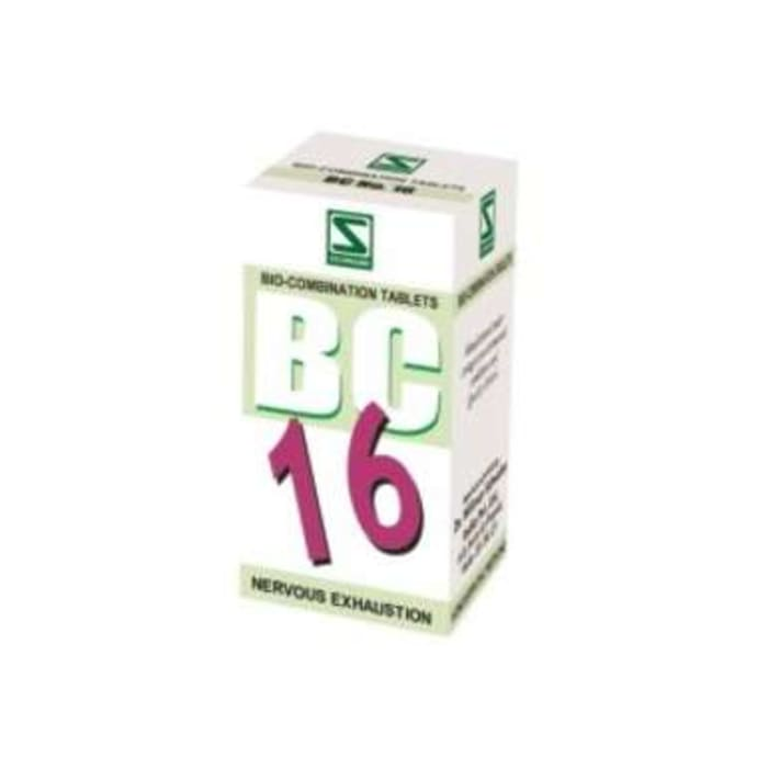 Dr Willmar Schwabe India Bio-Combination 16 (BC 16) Tablet