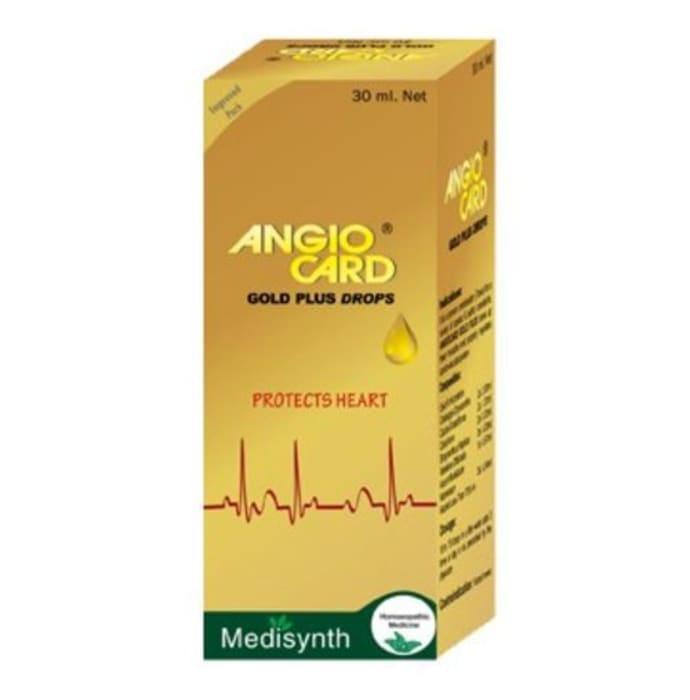 Medisynth Angio Card Gold Plus Drop