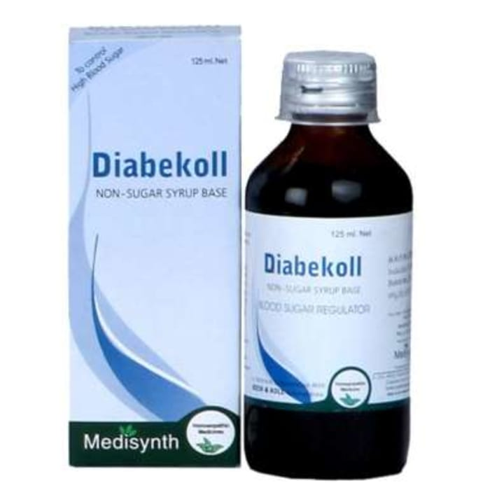 Medisynth Diabekoll Non-Sugar Syrup