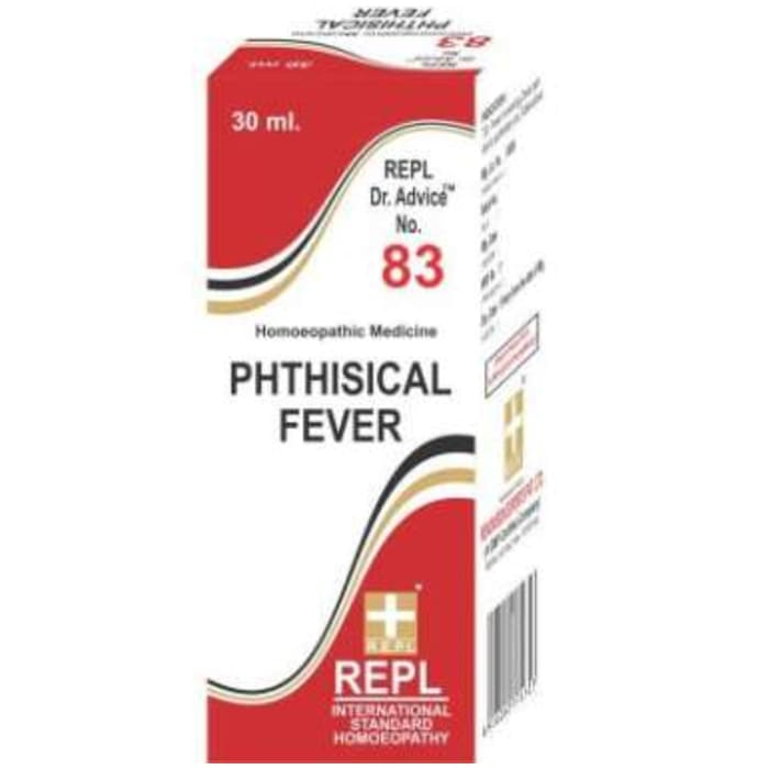 REPL Dr. Advice No.83 Phthisical Fever Drop