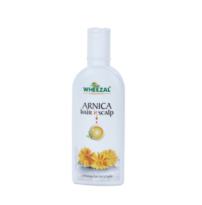 Wheezal Arnica Hair N Scalp Treatment