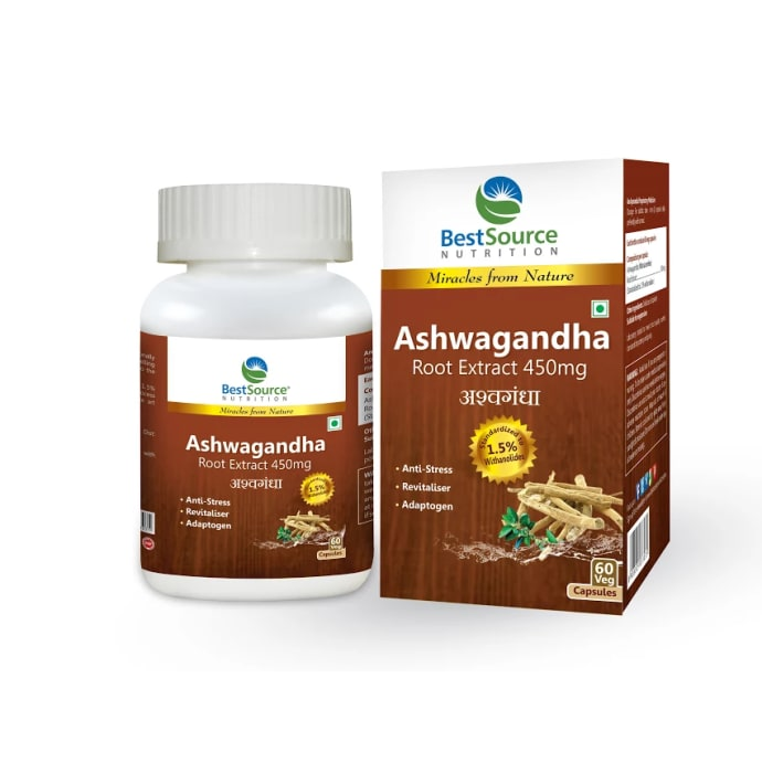 BestSource Nutrition Ashwagandha Root Extract Capsule