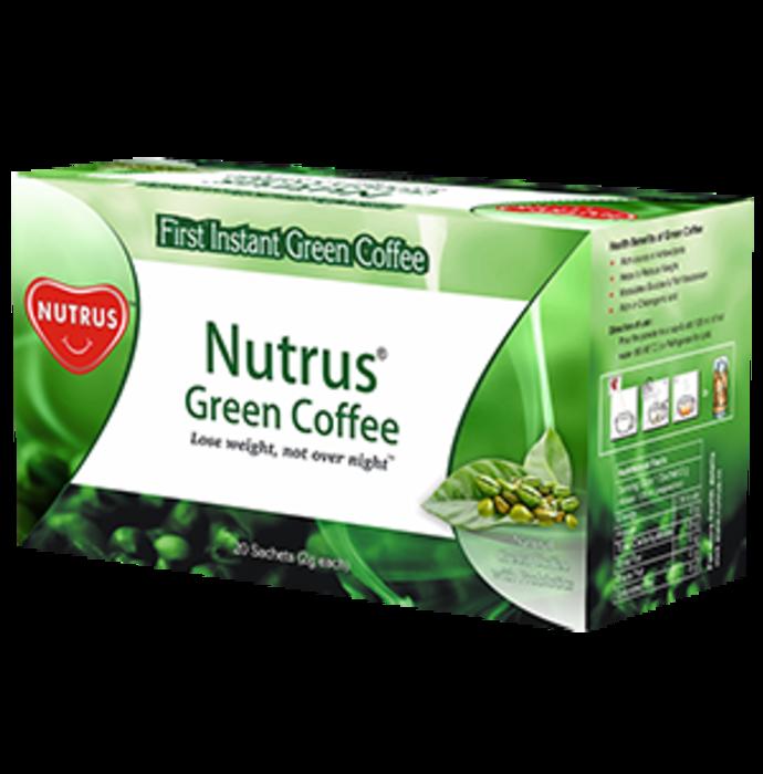 Nutrus Green Coffee Sachet
