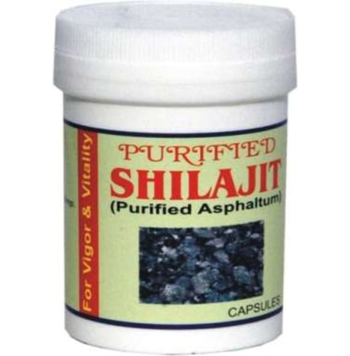 Indian Remedies Purified Shilajit Capsule