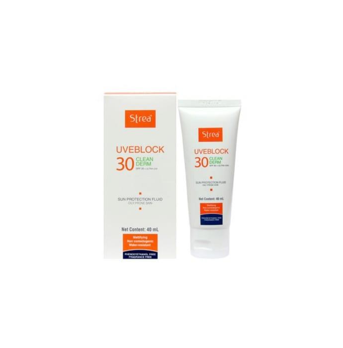 Strea Uveblock 30 Clean Derm Liquid