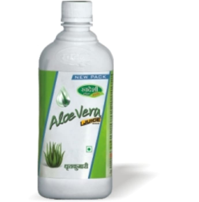 Swadeshi Aloevera Juice with Fiber (Buy 1 Get 1 Free)