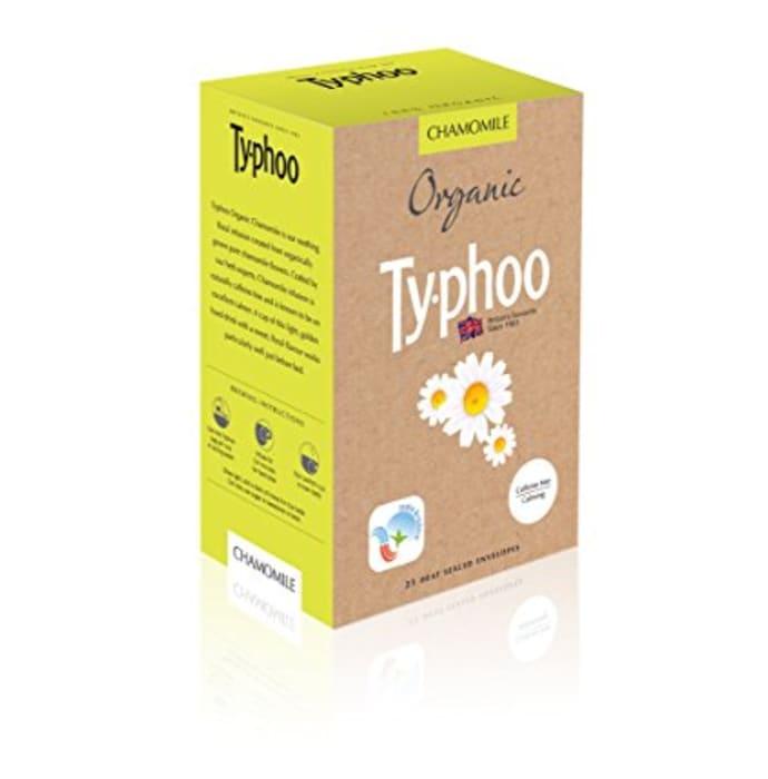 Typhoo Organic Chamomile Heat Sealed Envelopes