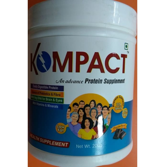 Kompact Powder Chocolate
