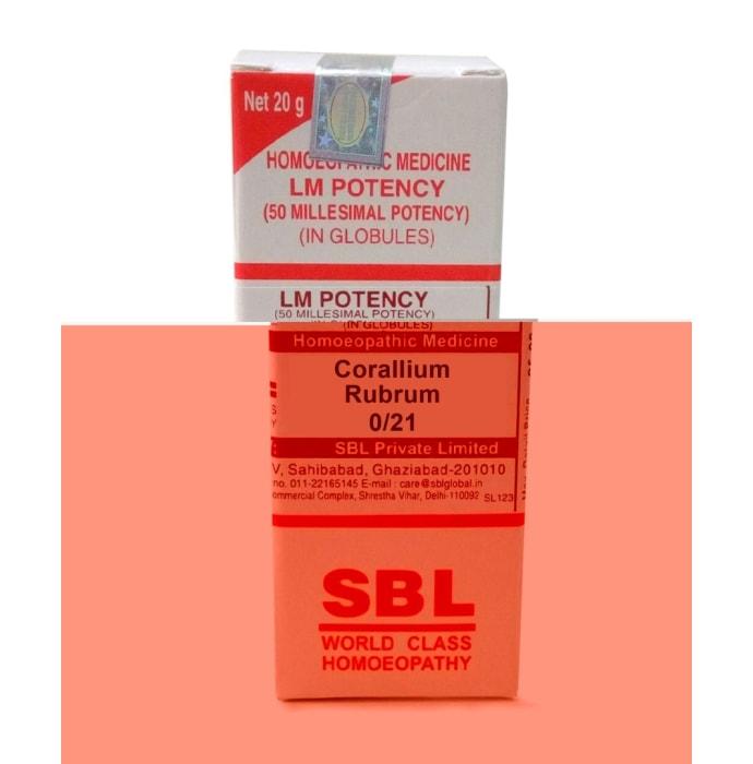 SBL Corallium Rubrum 0/21 LM