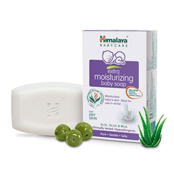 Himalaya Extra Moisturizing Baby Soap Pack of 3