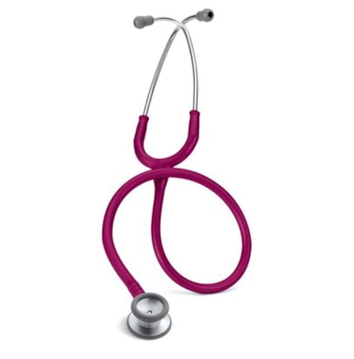 3M Littmann Classic II Pediatric Stethoscope, Raspberry Tube, 28 inch, 2122