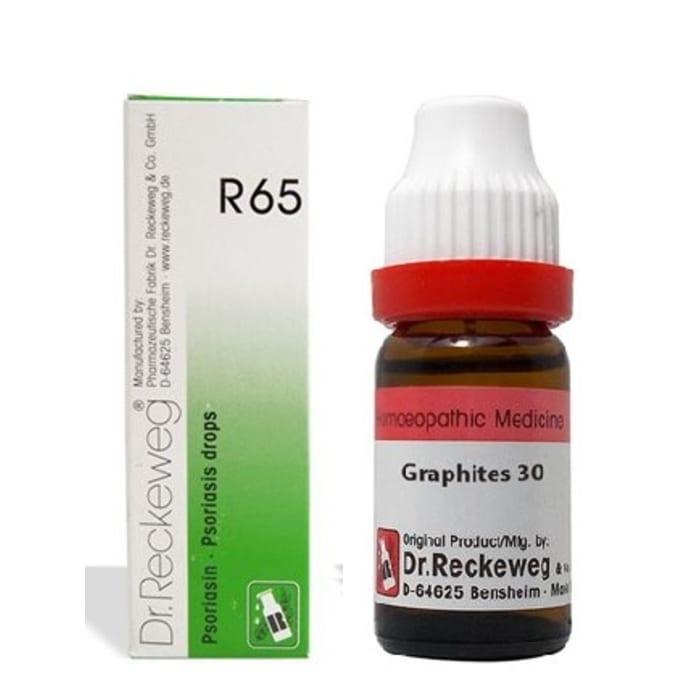 Dr. Reckeweg Anti-Psoriasis Combo (R65 + Graphites Dilution 30CH)